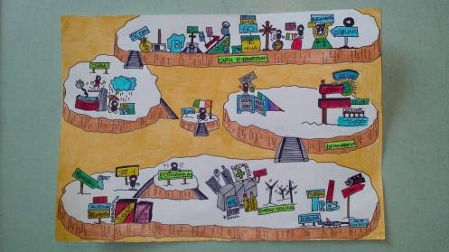 """Mappa stile """"paesaggio"""""""