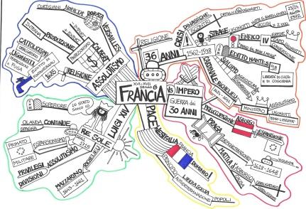 La Francia nei secoli XVI-XVII