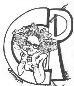"""Il logo del Blog """"Cattivissima Prof"""""""