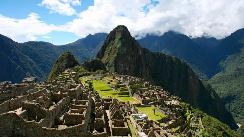 La città di Macchu Picchu